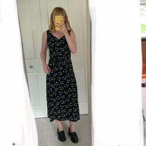 Vintage Ann Taylor Tea Length Dress